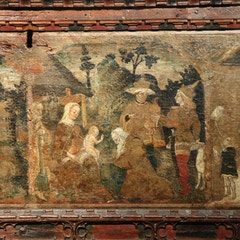 Adoration of the Magi by Bonifazio Bembo (c.1447-77)