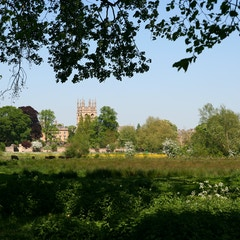 View from Christ Church Meadow