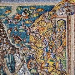 Nave Mosaic (c. 435): Exodus
