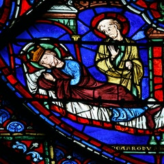 Charlemagne Window: Dream of St. James