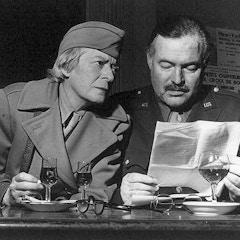 Hemingway and Flanner (c. 1938)