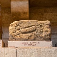 Roman Phallus Carving