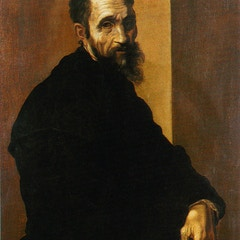 Portrait of Michelangelo at 60