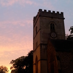 St Mary Magdalen Tower Sunset