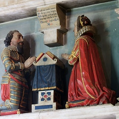 St Mary's church, Burford - monument to Thomas Cornwall (2)