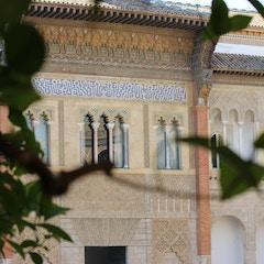 View of the Upper Royal Quarter, Alcazar, Sevilla, Spain
