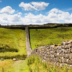 Hadrian's Wall at Housesteads