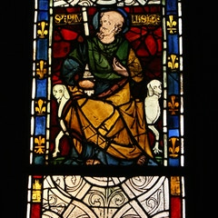 St Paul (medieval stained glass, Paris, France)