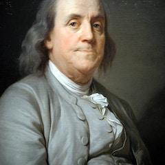 Portrait of Benjamin Franklin (1785)