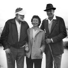 Hemingway with Gary Cooper (1959)