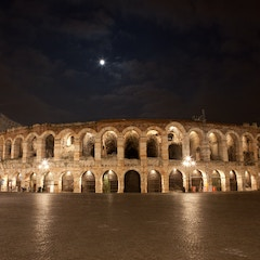 Moon over the Arena