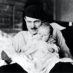 Hemingway and Bumby (1927)