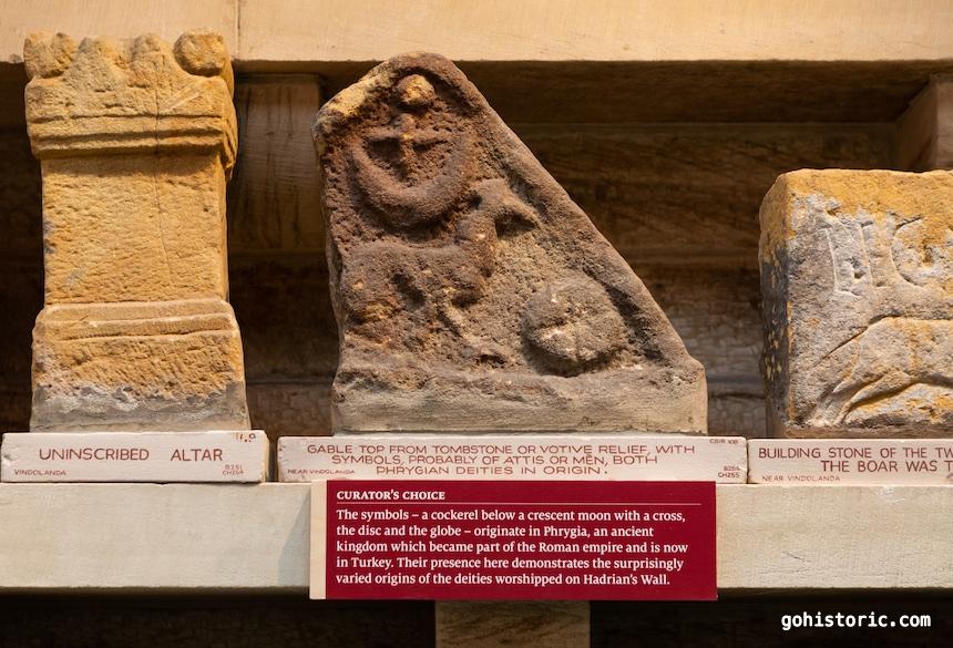 Roman Tombstone with Phrygian Deities