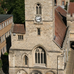 Closeup of St. Nicholas church
