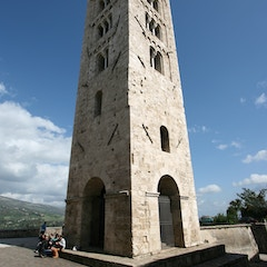 Romanesque Campanile (11c, Anagni Cathedral, Italy)