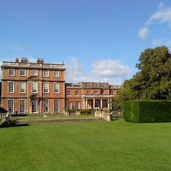 Newby Hall from the garden