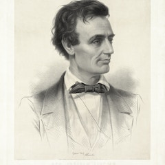 Hon. Abraham Lincoln, Republican candidate for the presidency