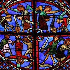 Peter and Paul Window: Martyrdom of Peter and Paul