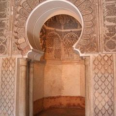 Mihrab (Ben Youssef Medersa, Marrakesh, Morocco)