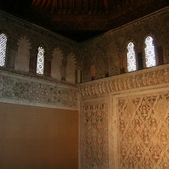 View of East Wall of Prayer Hall from Women's Gallery