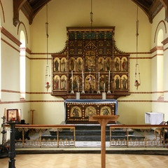 St Barnabas Jericho, Oxford - North chapel