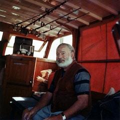 Hemingway on a Yacht (c. 1960)