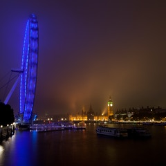 Foggy Night on the Thames