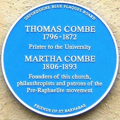 Thomas Combe and Martha Combe