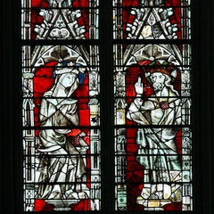 Great East Window: Peter, Mary, Christ and Paul