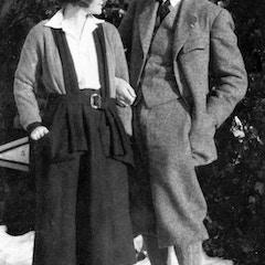 Ernest and Hadley Hemingway in Switzerland (1922)