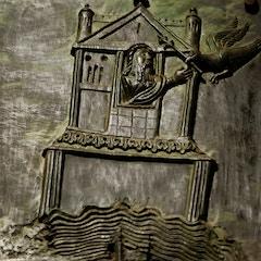 Bronze Door: Noah on the Ark