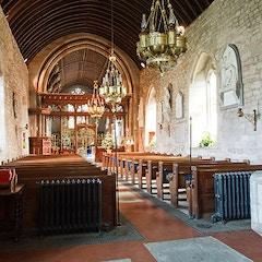 St Mary's church, Burford - the nave