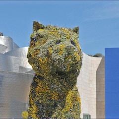Puppy de Jeff Koons (musée Guggenheim, Bilbao)