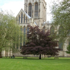 North Transept and Central Tower from Dean's Yard