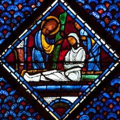 Mary Magdalene Window 10: Raising of Lazarus