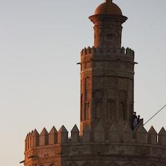 Torre del Oro, atardecer