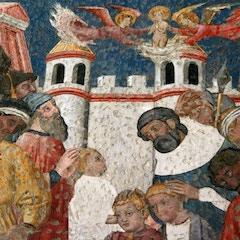 Capilla de San Blas (1399): Mural