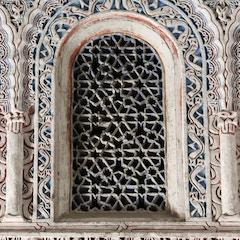 Mud´jar detail, Alcazar, Sevilla, Spain