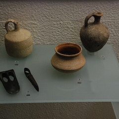 Artifacts in Museo Sefardí Housed in Synagogue