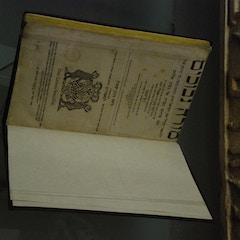 Antique Book in Museo Sefardí