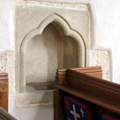 St Peter, Bucknell, Oxon - Stoup