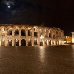 Roman Arena and Palazzo Barbieri