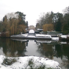 Newby Hall in winter