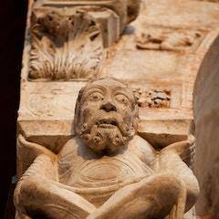 West Porch Sculpture: Atlas