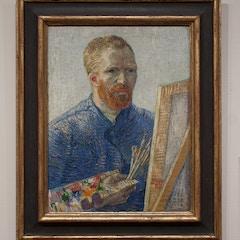 Zelfportret als schilder, Vincent van Gogh (1888)