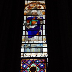 Stained Glass Window in South Transept