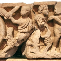 Sarcophagus of the Spouses 2: Sacrifice of Abraham