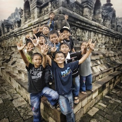 The Explosion of Kids in Indonesia