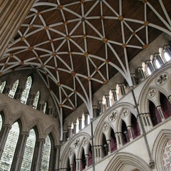 Ceiling of North Transept