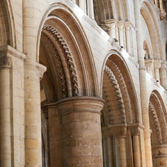 Selby Abbey: Norman Arches